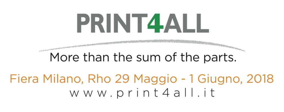 Print4all - rho 29 maggio