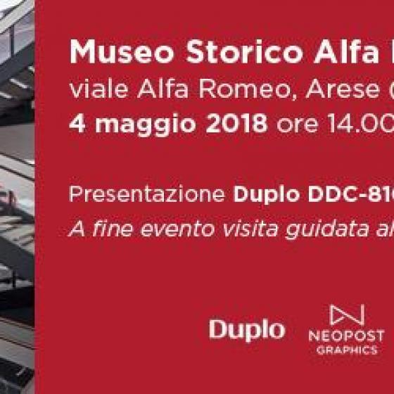Evento - Duplo DDC-810 DuSense